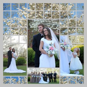 spring-wedding-photo-collage