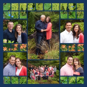 6 Family Portrait Photo Collage