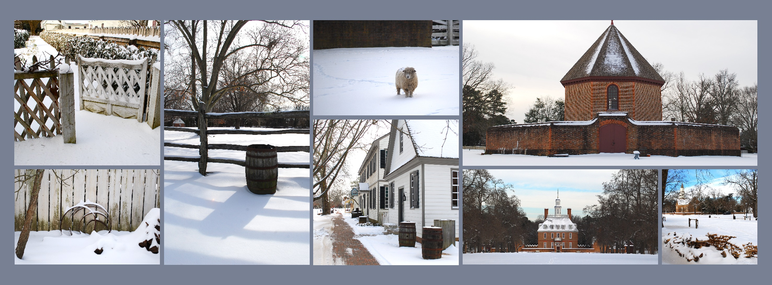 Facebook Cover Collage : Winter facebook covers cropdog photo collage